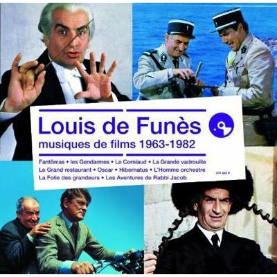 Louis de Funès  - Musiques de films 1964-1973
