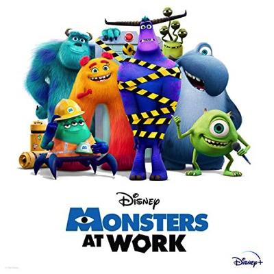 Monstres & Cie : Au travail