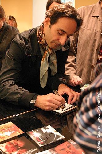 Alexandre Desplat 2006