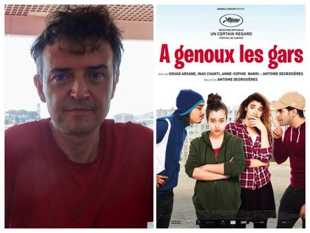 a-genoux-les-gars, - Cannes 2018 / Interview de Antoine Desrosières (A GENOUX LES GARS) : Avec les chansons yéyés, 'le film a sa petite musique'.
