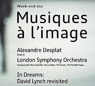 lynch,desplat,@, - Week-end des Musiques à l'Image autour de Alexandre Desplat et David Lynch / Audi talent awards