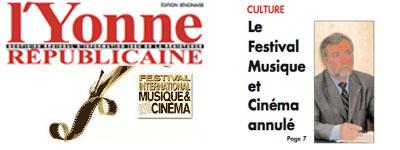 festival_auxerre, - Le festival Musique et Cinéma d'Auxerre 2009 annulé ?