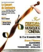 petitgirard-ent,bolling,yared,bernard-jm, - Auxerre 2008 - Concert du centenaire : le programme !