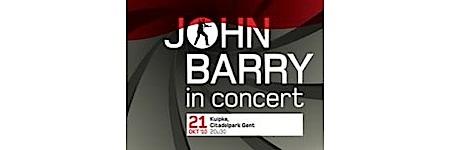 barry, - John Barry en concert au Festival du Film de Gand