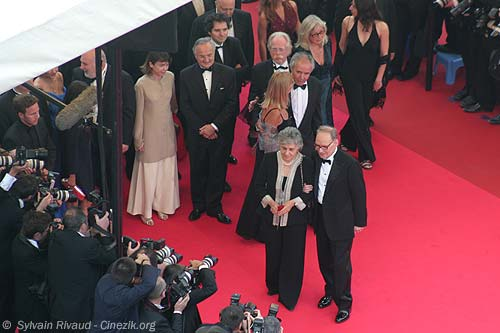 Morricone marches Cannes 2007