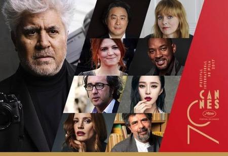 Almodóvar et ses huit jurés — Festival de Cannes