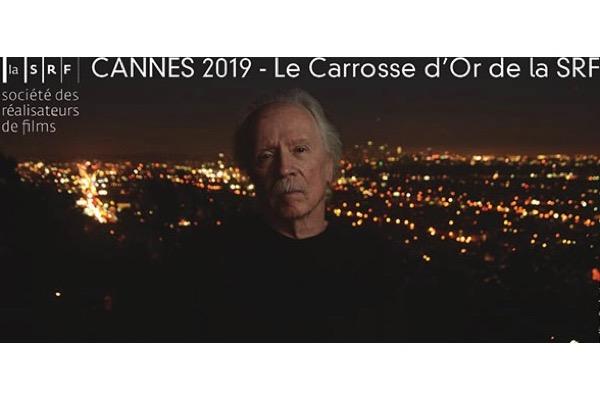 Cannes 2019 / Quinzaine des Réalisateurs : le réalisateur - et compositeur - John Carpenter lauréat du 17e Carosse d'or