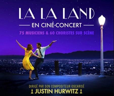 Ciné-Concert LA LA LAND à La Seine Musicale de Paris