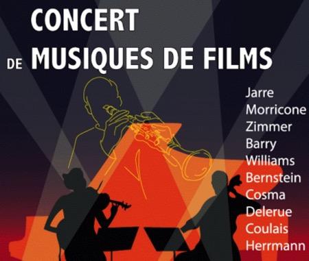 Concert de Cinélodia (ensemble instrumental de musique de film) à Saint Alban (31)