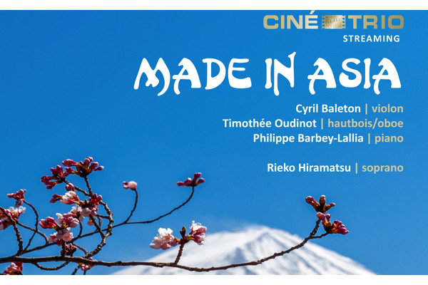 ,@, - Livestream : Ciné-Trio, programme Made in Asia