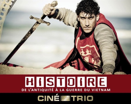 Ciné-Trio #37 : L'Histoire, De l'Antiquité à la Guerre du Vietnam