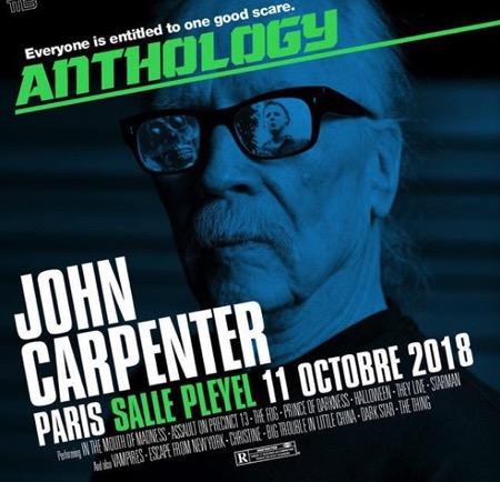 John Carpenter en concert à la Salle Pleyel