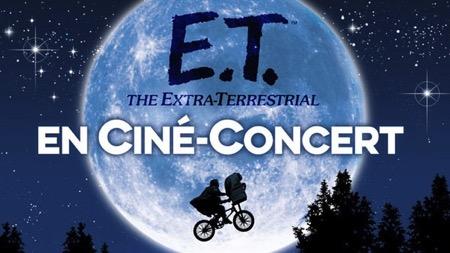 E.T. l'extraterrestre en Ciné-concert au Grand Rex de Paris