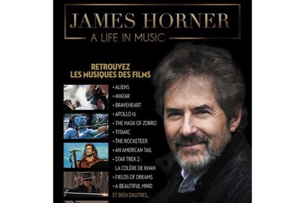 Concert : James Horner, Une Vie en Musique
