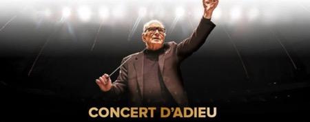 Ennio Morricone en concert pour la dernière fois en France à l'AccorHotels Arena de Paris