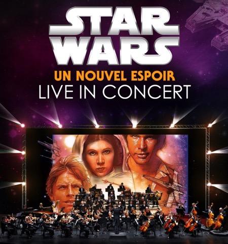 STAR WARS : UN NOUVEL ESPOIR, Concert symphonique à Metz et à Strasbourg