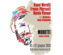 moretti,piersanti,piovani, - Concerto Moretti : Concerts de Franco Piersanti et Nicola Piovani pour les films de Nanni Moretti