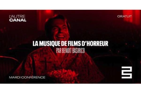 Nancy : Conférence sur la Musique des Films d'horreur