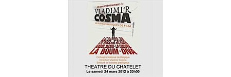 cosma,@, - Vladimir Cosma en concert au Châtelet