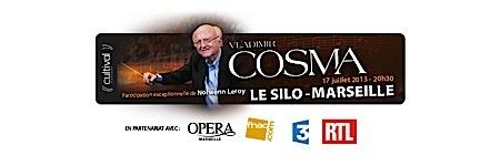 cosma, - Vladimir Cosma poursuit sa tournée à Marseille