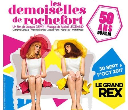 demoiselles-de-rochefort,legrand,@, - LES DEMOISELLES DE ROCHEFORT en ciné-concert au Grand Rex de Paris