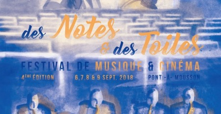 Des Notes et des Toiles 2018 / 4e Festival de Musique & Cinéma de Pont-à-Mousson, avec Jean-Michel Bernard et Claude Bolling