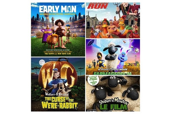 chicken_run,wallace_gromit_film,shaun-mouton,cro-man,shaun-le-mouton-le-film2019, - Liste B.O : des musiques pour les productions animées de Nick Park