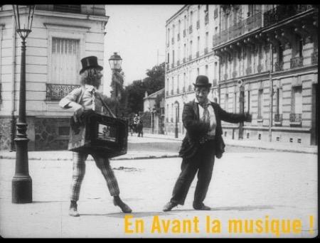 ,@, - 'En avant la musique !' à la Fondation Jérôme Seydoux-Pathé : Musique et Danse au temps du cinéma muet