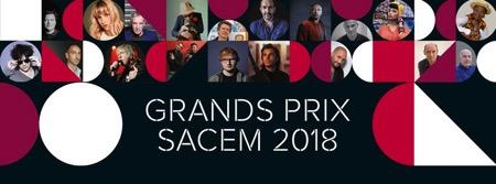 rombi,sacem,@, - Philippe Rombi au palmarès des Grands Prix Sacem 2018
