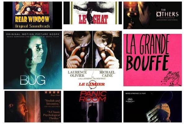 Panorama BO : les huis-clos du cinéma (de Franz Waxman à Philippe Sarde)