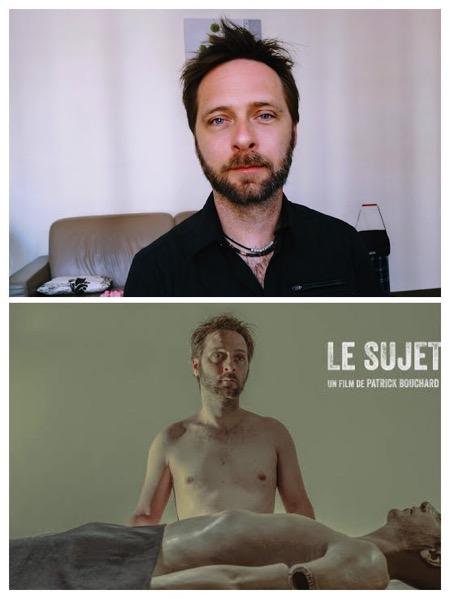 bouchard,sujet2018, - Interview B.O à Cannes : Patrick Bouchard, réalisateur / compositeur québécois du court-métrage LE SUJET