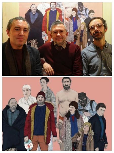 ulysse-mona,minizza,betbeder, - Interview B.O / Sébastien Betbeder et Minizza : dans ULYSSE & MONA, la musique réveille le monstre