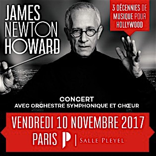 howard-jn,@, - James Newton Howard en concert à La Salle Pleyel de Paris en novembre 2017