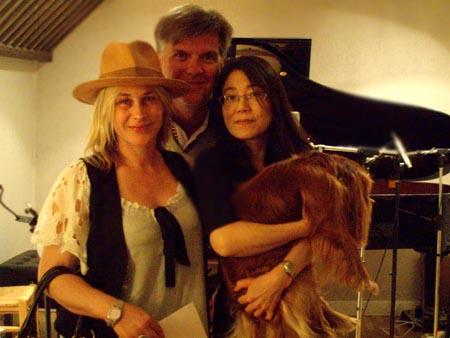 arquette,bernard-jm,human_nature, - Patricia Arquette chante pour Jean Michel Bernard... et pour ses chiens !