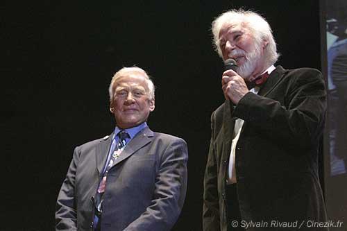 Buzz Aldrin et John Scott