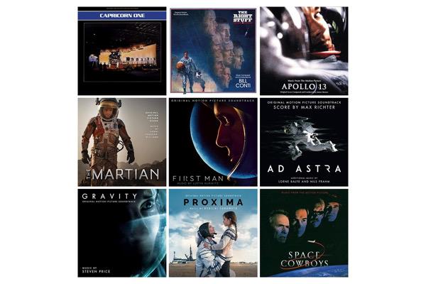 capricorn_one,space-cowboys,apollo13,etoffe-des-heros,proxima,seul-sur-mars,first-man,ad-astra,objectif-lune,moon,gravity,interstellar,high-life, - Liste BO : des musiques pour la conquête spatiale