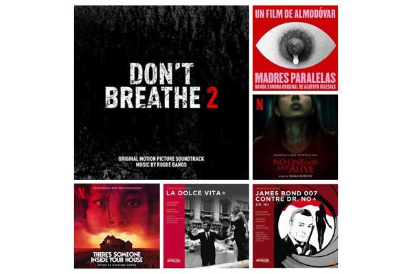 Sorties de BO : les musiques de films disponibles au 9 octobre 2021