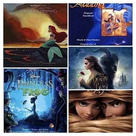 menken,belle-et-la-bete2017,petite-sirene,aladdin,raiponce,princesse_et_grenouille, - Alan Menken : 30 ans de succès musicaux chez Disney