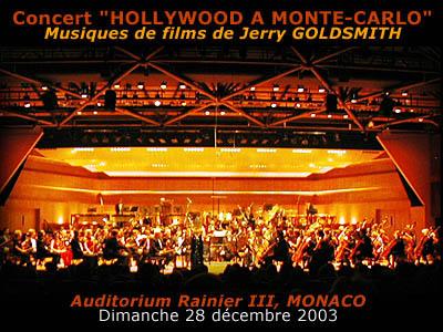 goldsmith, - Hollywood à Monte-Carlo