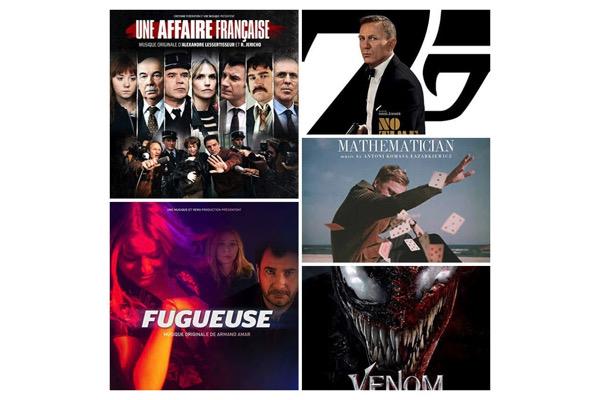 Sorties de BO : les musiques de films disponibles au 2 octobre 2021
