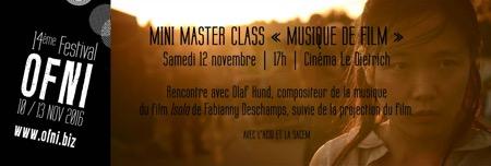 hund,isola,@, - Festival OFNI #14 : Master class 'musique de film' avec Olaf Hund