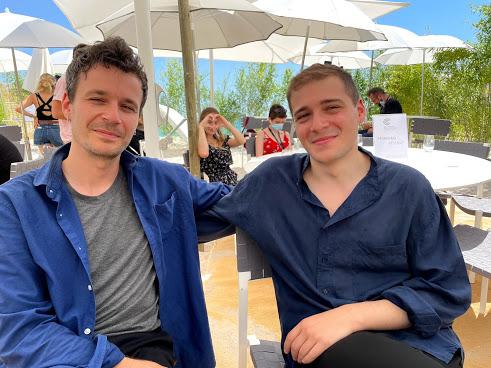 Pierre Desprats (à gauche), Elie Grappe (à droite)