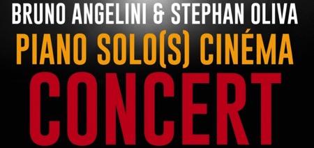Piano et Cinéma : Concert Stéphan Oliva et Bruno Angelini autour de Bernard Herrmann et Sergio Leone (Paris)