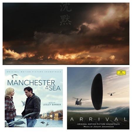 silence,premier-contact,manchester-by-the-sea,@, - Oscars 2017 de la musique de film : PREMIER CONTACT, SILENCE et MANCHESTER BY THE SEA disqualifiés