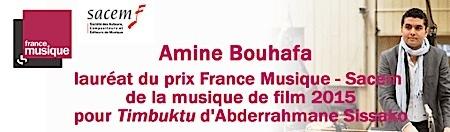 sacem,france-musique,marder,bouhafa,@, - 9ème prix France Musique Sacem de la musique de film : Amine Bouhafa lauréat / Concert dédié à l'âge d'or des compositeurs Hollywoodiens