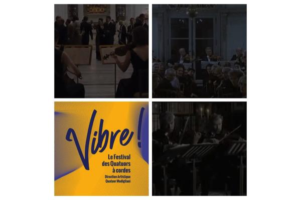 Le Quatuor au cinéma : Conférence et Concert dans le cadre de Vibre ! (le festival des Quatuors à cordes)