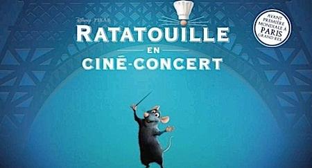 ratatouille,giacchino,@, - Concert : RATATOUILLE et la musique de Giacchino sur scène avec 85 musiciens