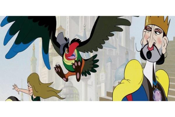 roi_oiseau, - LE ROI ET L'OISEAU: un mickeymousing à la française?