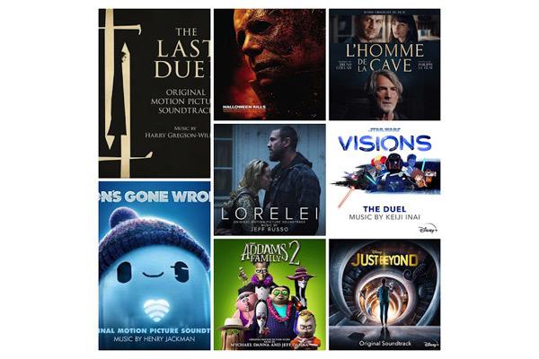Sorties de BO : les musiques de films disponibles au 16 octobre 2021