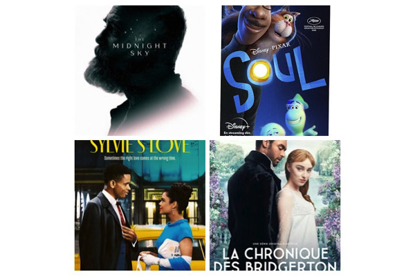 chronique-des-bridgerton2020110716,good-morning-midnight,soul2020053113,sylvies-love2020112612, - Quelles musiques dans les trois films et la série à découvrir la semaine du 23 décembre 2020 ?